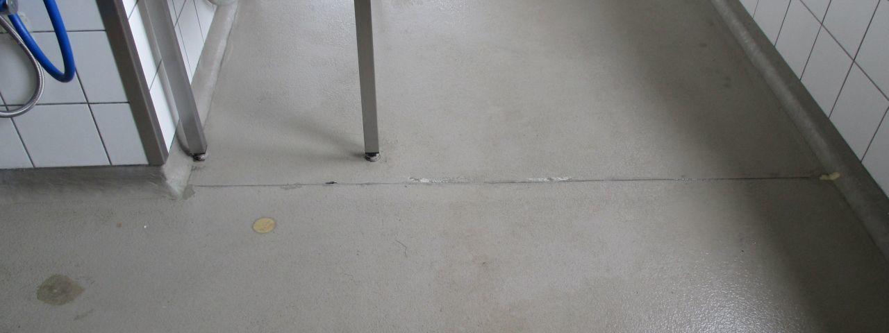 DSB Säurebau GmbH :: Küchenboden Bürogebäude
